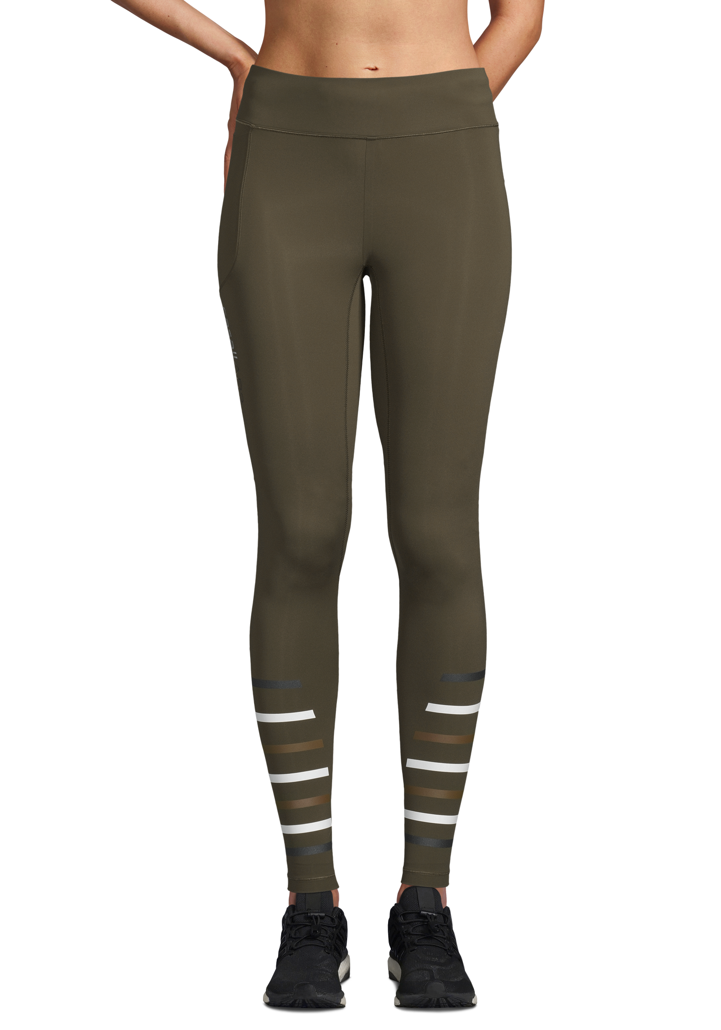 AR2 Compression Tights - Forest Green
