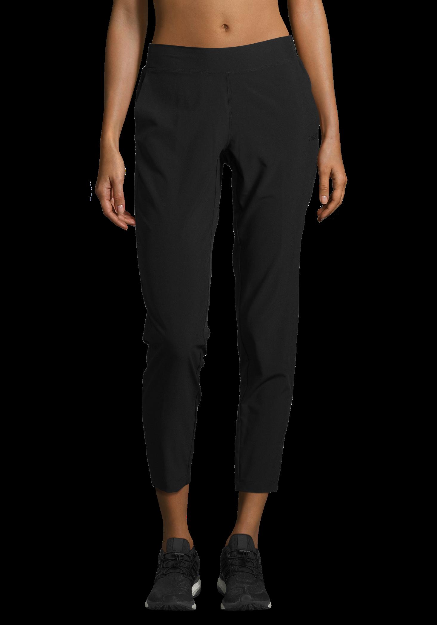 Classic Slim Woven Pants - Black